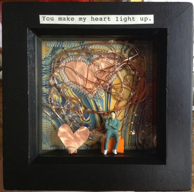 You light upon my heart.  picture, Lights. Romance, Wedding, anniversary. Art
