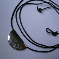 silvery moon ~ necklace / choker