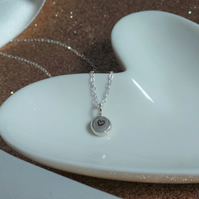Silver Heart Necklace - Sterling Silver Heart Pendant