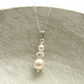 Ella Ivory Pearl Necklace - Crystal and Pearl Bridal Necklace