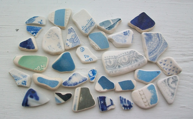 Scottish Beach Pottery Craft Supplies (2)