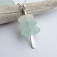 Sea Glass Cairn Necklace from Scotland - BEACH STACK
