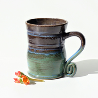 Seasonal Mug - Tea, Coffee, Hot Chocolate, Ceramic Stoneware Pottery '6'