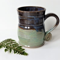 Landscape Mug - Tea, Coffee, Hot Chocolate, Ceramic Stoneware Pottery 14