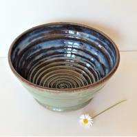 Beautiful Breakfast - Soup - Salad - Olive - Tapas Bowl Ceramic Stoneware
