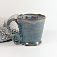 Dark Clouds over Brooding Forest Mug  Tea, CoffeeCeramic Stoneware Pottery