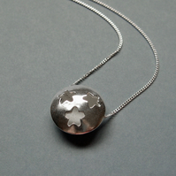 Silver Pebbles – Starry Necklace