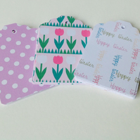 Easter Theme,Gift or Message Tags,Co-Ordinating Pk of 30.