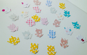 Card Shapes For Crafts - Flowers