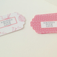 Card,Label Style Message Tags,30 Pk,'Knitted With Love' Wrapping,Price Tags