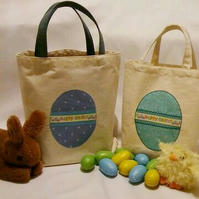 Fabric Easter bags