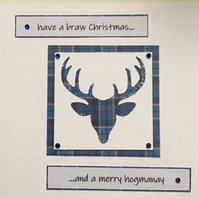 Scottish Christmas and New Year Card