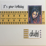 It's your birthday card
