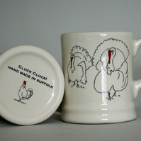 Turkey Mug handmade
