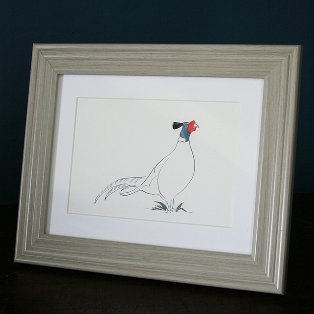 Mr.Pheasant  Mini print