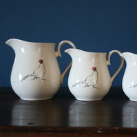 Pheasant Jug Medium