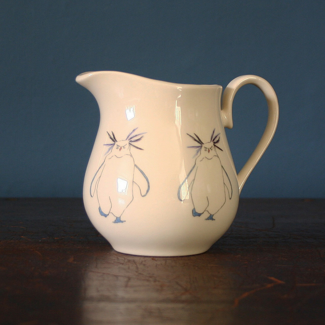 Rocky the Rockhopper penguin jug small