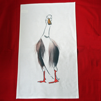 Runner Duck cream Tea towel