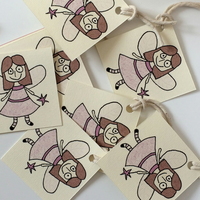 Fairy Gift Tags - Pack of 8