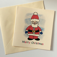 Santa Christmas Cards - Pack of 8