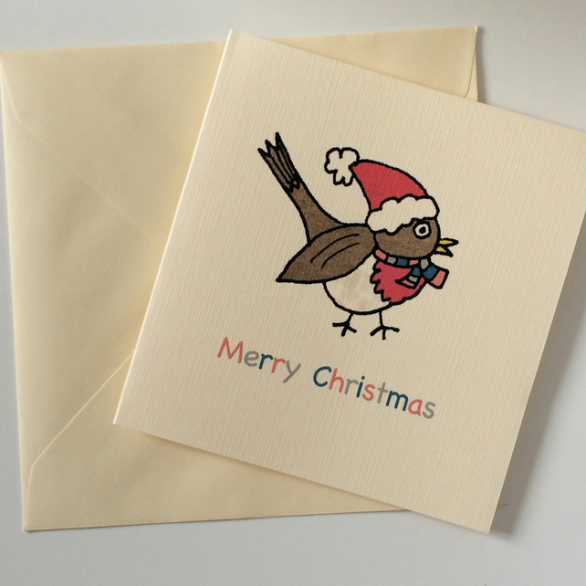 Robin Christmas Cards - Pack of 8