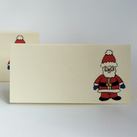 Santa Place Cards - Pack of 12