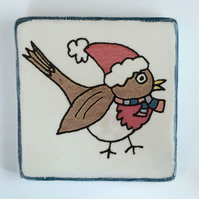 Ceramic Robin Coasters