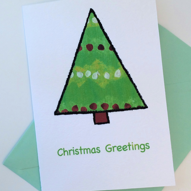 Christmas Tree Christmas Cards - Pack of 8