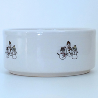 Small Snowmen Bowl