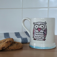 Owl Tea - Coffee Mug