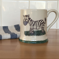 Zebra Tea-Coffee Mug