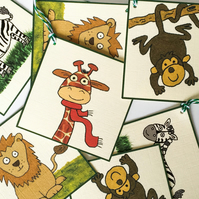 Jungle Gift Tags