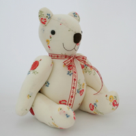1930s vintage French fabric teddy bear