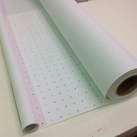 DOT AND CROSS  DRESSMAKER  PATTERN PAPER  10 METRE ROLL