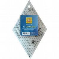 Patchwork & Quilt 60 Degree Diamond Acrylic  Ruler