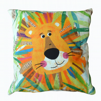 Lion Jungle Buddy Cushion