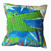 Crocodile Jungle Buddy Cushion