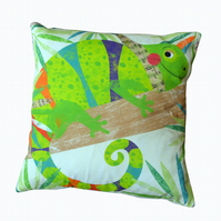 Chameleon Jungle Buddy Cushion
