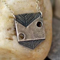 Abstract kite necklace