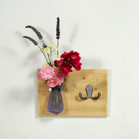 Key Holder - Coat Rack - Flower Vase - Hall Hooks