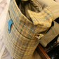 Tweed despatch bag