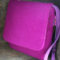 Harris Tweed saddle bag
