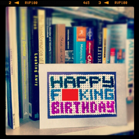 HAPPY F - - KING BIRTHDAY