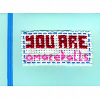 Printed card: You are amazeballs