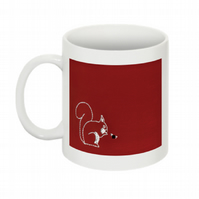 THIS SQUIRREL THINKS YOU'RE A T-T MUG