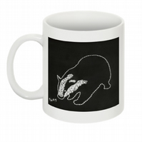 THIS BADGER THINKS YOU'RE A TW-T MUG