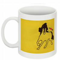 THIS HORSE THINKS YOU'RE A W-NKER MUG