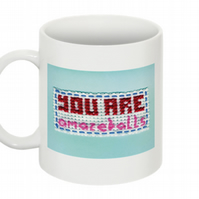 YOU ARE AMAZEBALLS MUG