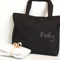 Baby changing bag, baby gift