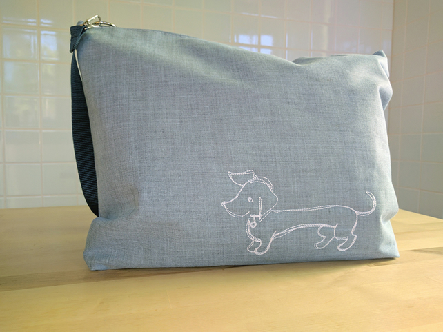 Baby changing bag, baby gift, baby bag, dog, puppy, new baby gift, nappy bag